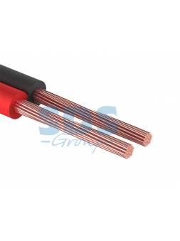 Кабель акустический ШВПМ 2х0,50 мм2 красно-черный (бухта 100 м) PROconnect (REXANT)