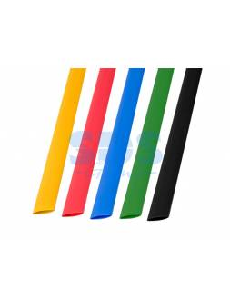 Набор термоусадочной трубки 10,0 / 5,0 мм, пять цветов (упак. 50 шт. по 1 м) REXANT