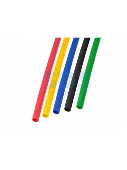 Набор термоусадочной трубки 3,0 / 1,5 мм, пять цветов (упак. 50 шт. по 1 м) REXANT