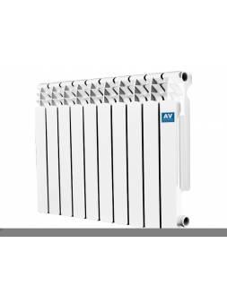 Радиатор алюминиевый Exclusive 500/80-A4, 10 секций AV engineering (10 секций)
