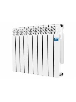 Радиатор биметаллический Bimetal 500/80-A4, 10 секций AV engineering (10 секций)