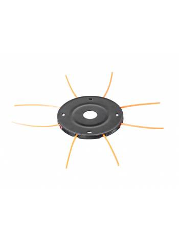 """Головка триммерная ECO GTP-TC10 леска ф 2.4 мм ручн. (леска до 2.4 мм, 120x25.4 мм, """"паук"""", 8 выходов)"""