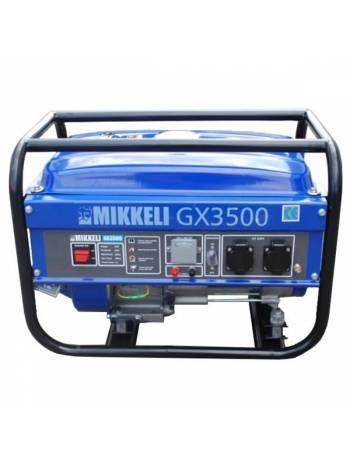 Генератор бензиновый Mikkeli-GX3500